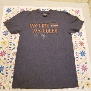 Harley-Davidson My Ride,My Rules Tee